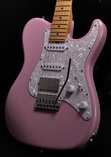 Suhr Classic Ts Classic T Classic Trans Shell Pink Reverb