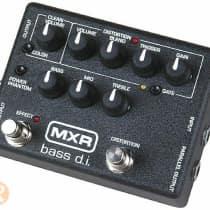 MXR M80 Bass DI 2010s Black image