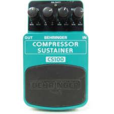 Behringer CS100 Compressor Sustainer Guitar Effect Pedal
