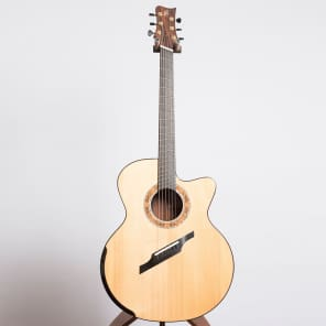Greenfield G4.2 Custom Fan Fret Acoustic Guitar, Brazilian Rosewood and Lutz Spruce - Pre-Owned for sale
