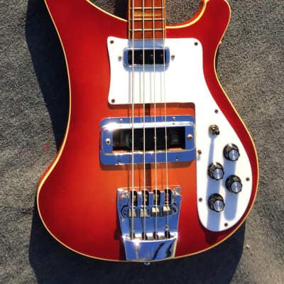 Rickenbacker 4001 Stereo Bass 1973 Fireglo for sale
