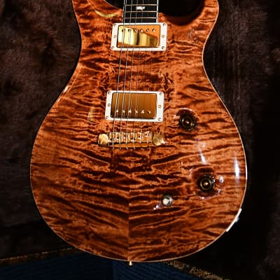 PRS McCarty 2016, Copperhead Quilt, Solid Rosewood Neck with New Paisley Case, from New/Old Stock