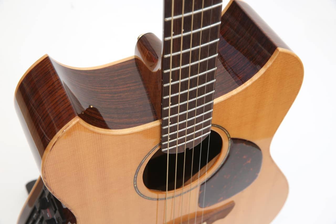 wechter pathmaker usa rosewood double cutaway acoustic reverb. Black Bedroom Furniture Sets. Home Design Ideas