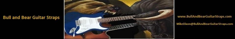 Bull and Bear Guitar Straps