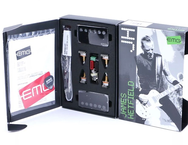 EMG James Hetfield pickup set /w FREE Tuner and Guitar Cord JH 2017 on