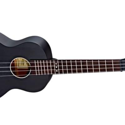 Ortega Horizon Series Acoustic Ukulele Okoume Black for sale