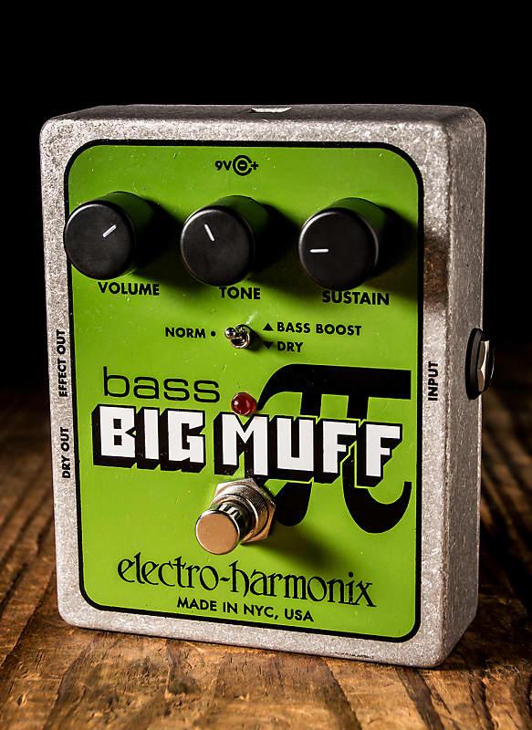 electro harmonix bass big muff pi distortion sustainer pedal reverb. Black Bedroom Furniture Sets. Home Design Ideas