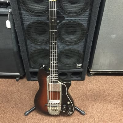 Ovation Magnum 1970's Electric Bass guitar with original hardshell case for sale
