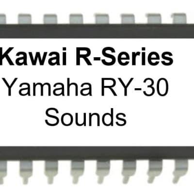 Kawai R100 R50 - Yamaha RY-30 RY30 Sound set eprom for R-100 R-50
