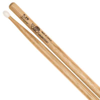 Los Cabos #LCD5ARHNT - Red Hickory Nylon-Tipped 5A Drumstick