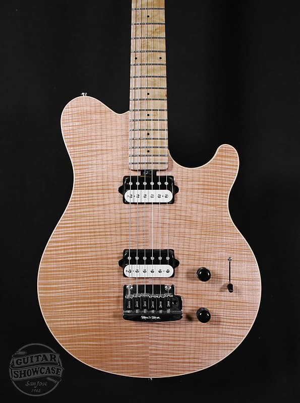 Music Man Axis Super Sport Bare Knuckle Pups Natural Reverb
