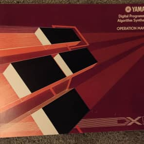 Original Yamaha DX-9 Operation Manual
