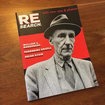 RE/SEARCH #4/5 - William Burroughs, Brion Gysin, Throbbing Gristle
