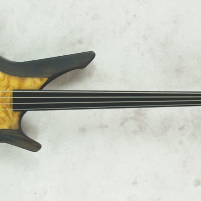 Manne acoustibass satin special mastergrade 2020 brown/honey top for sale