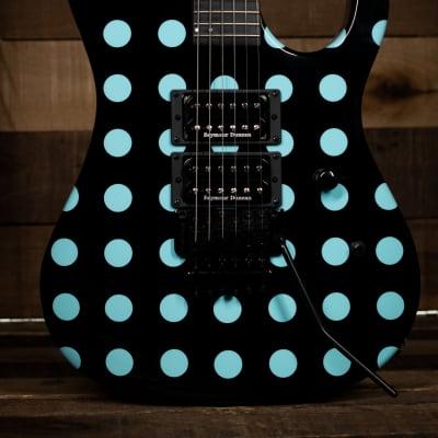 Kramer Nightswan, Black with Blue Polka Dots for sale
