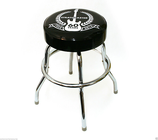 Brilliant Fender Bar Stool 60Th Anniversary 2014 Black And Chrome Camellatalisay Diy Chair Ideas Camellatalisaycom