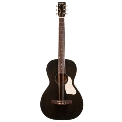 Art & Lutherie Roadhouse Parlor Acoustic-Electric Guitar Black