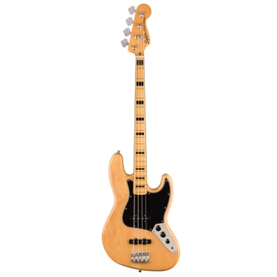 Squier Classic Vibe 70's 4-String Jazz Electric Bass Guitar - Natural