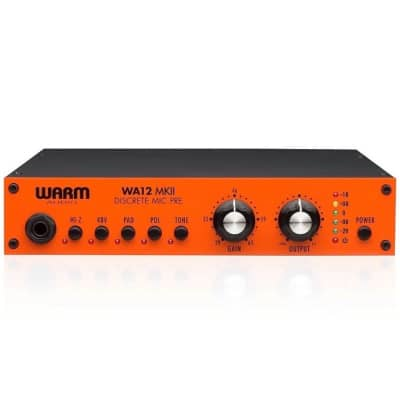 Warm Audio WA12 MKII Classic 312-Style Analog Microphone Preamp