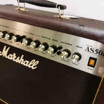 Marshall AS50D Acoustic Combo 50 Watt Brown