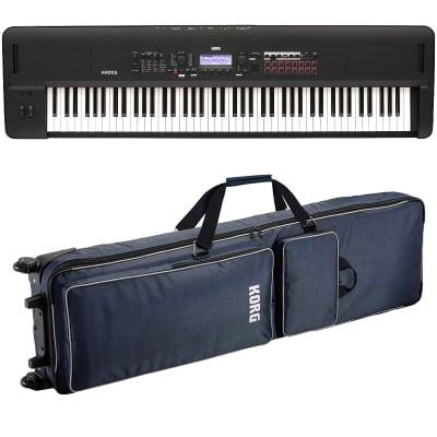Korg Kross 2 88 Music Workstation - Matte Black CARRY BAG KIT
