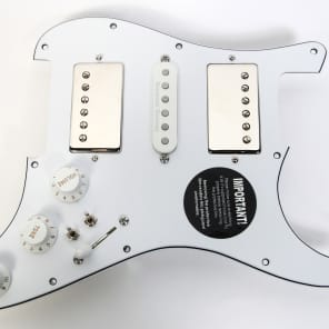 920D Custom Shop Strat Duncan 59/STK-S4N/59 Humbucker loaded pickguard