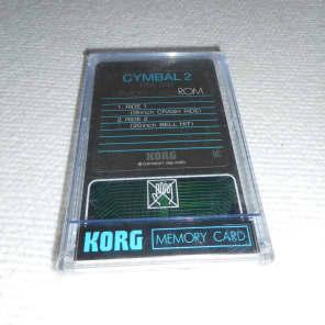 Korg  DDC-D02 Wavestation Memory Card 90's