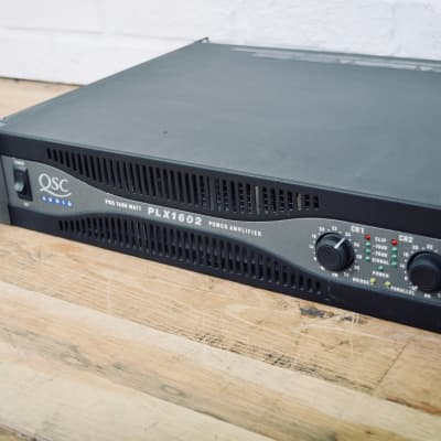 QSC PLX1602 2 channel PA power amplifier amp in excellent condition-church owned
