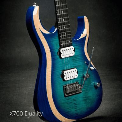 NEW Cort X700 Duality Light Blue Burst, Free Shipping
