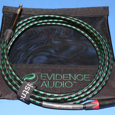 25' Evidence Audio Lyric HG TRS/XLR Microphone Cable ~ Gold or Nickel Plugs UPTOYOU ~ Free Bag