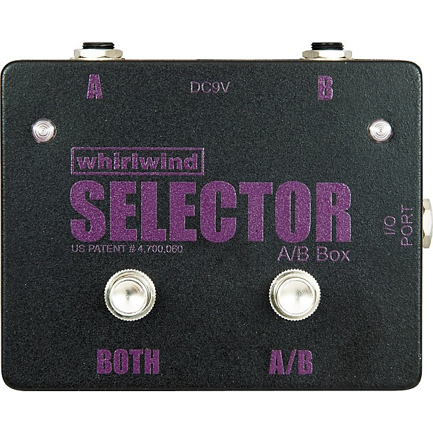 Whirlwind Selector A B Box Regular Music123 Reverb