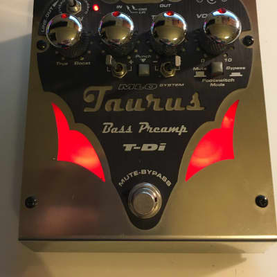 Taurus T-DI Bass Preamp for sale