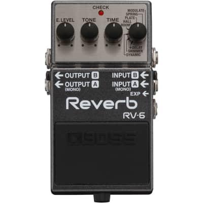 BOSS RV6 Digital Reverb Pedal for sale
