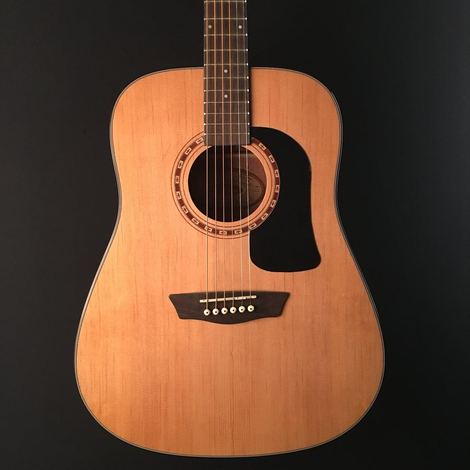 1e8c112371 Washburn AD5K Apprentice 5 Series Dreadnought Acoustic Guitar w ...