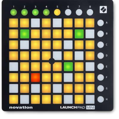 Novation LAUNCHPAD MINI MK2 Ableton Live USB MIDI Controller w/ 64 Mini Multi Color Pads