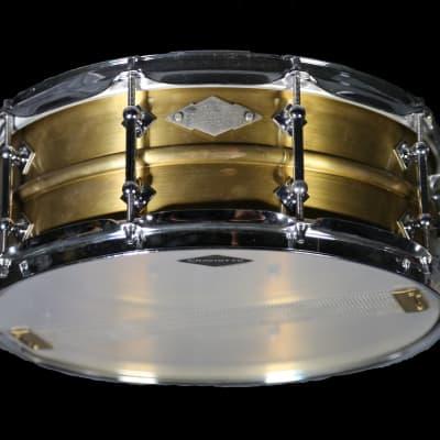 "Craviotto AK 5.5x14"" #11 Masters Brass Snare Drum 2013"