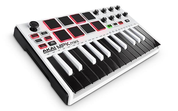 Akai MPK Mini MKII MK2 25-Key Compact USB MIDI Keyboard MPC