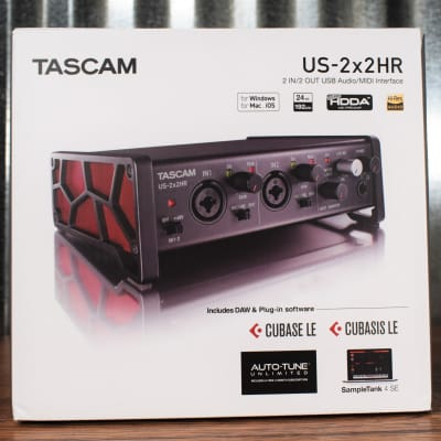 Tascam US-2X2HR 2x2 USA Audio & Midi Recording Interface