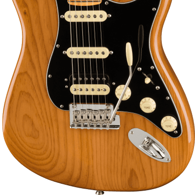 Fender American Professional II Stratocaster HSS with Maple Fretboard 2020 - 2021 Roasted Pine
