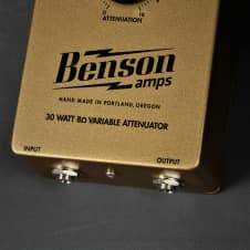 Benson Amps 30 Watt 8 Ohm Attenuator