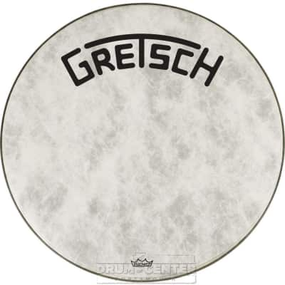 Gretsch Bass Drum Head Fiberskyn 22 With Broadkaster Logo