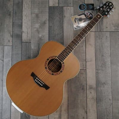 Crafter J15 'Jumbo' Acoustic Guitar, Satin Natural for sale