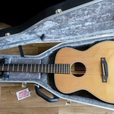 NEW Terry Pack OMRC Orchestra model acoustic gtr, solid rosewood back/sides, solid cedar top, case for sale