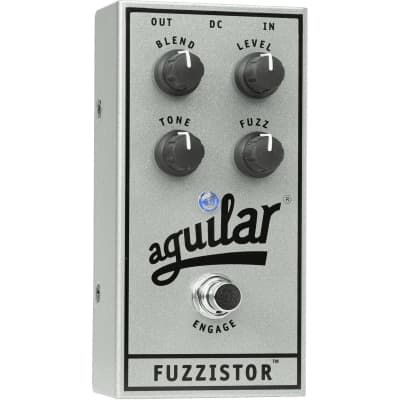Aguilar Fuzzistor (Silver 25th Anniversary Limited Edition) Bass Fuzz for sale
