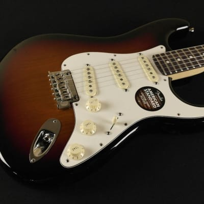 Fender American Standard Stratocaster - Rosewood Fingerboard - 3-Color Sunburst 0113000700 (999) for sale