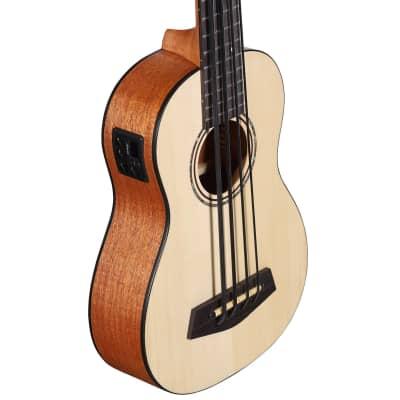 Alvarez AU60E-BASS Artist Ukulele Bass - Natural for sale