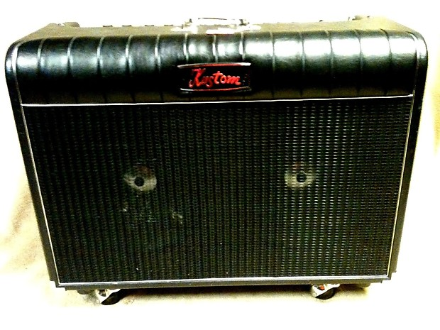 kustom tuck n roll 39 72 coupe 2x12 tube guitar amp combo reverb. Black Bedroom Furniture Sets. Home Design Ideas