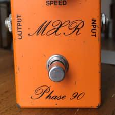 Vintage 1974 MXR Phase 90 Script Logo Bud Box FX pedal Eddie Van Halen, David Gilmour/Pink Floyd