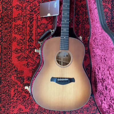Taylor Builder's Edition 517e-WHB Grand Pacific Wild Honeyburst Acoustic/Electric Guitar w/ OHSC