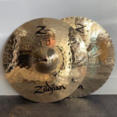 "Zildjian 14"" Z Custom Mastersound Hi-Hat Cymbals (Pair) 2003 - 2008"